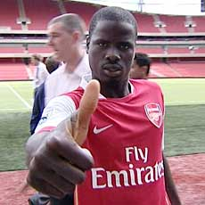 Olympique de Lyon News Eboue